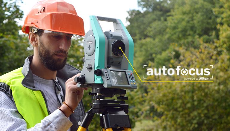 Tachimetry Nikon technologia autofocus