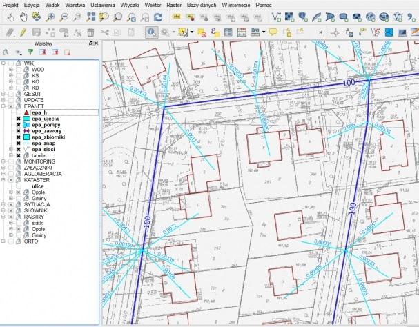 QGIS w wodociągach i kanalizacji, systemy GIS