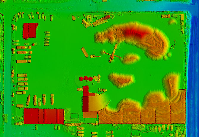Pix4dmapper - Numeryczny Model Pokrycia Terenu