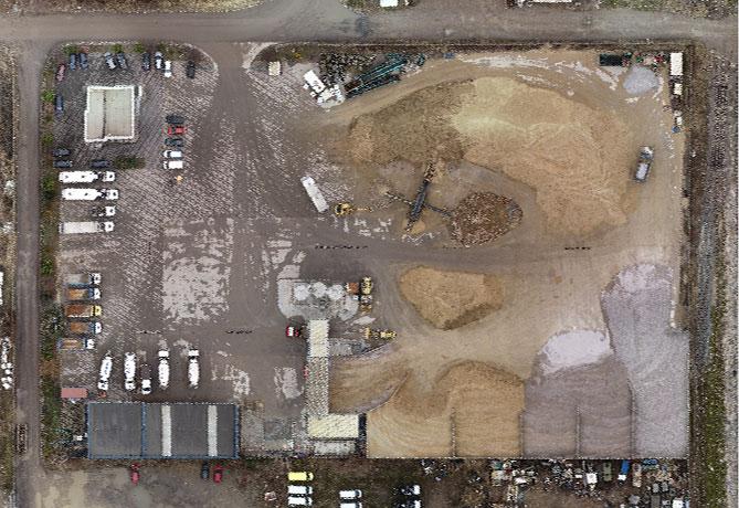 Pix4dmapper - Ortofotomozaika betoniarni GOTRAKT