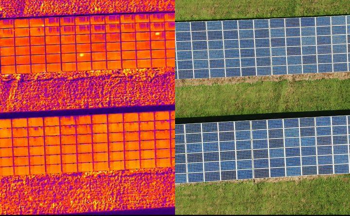 Analiza sprawności paneli fotowoltaicznych na farmie w sieldcach